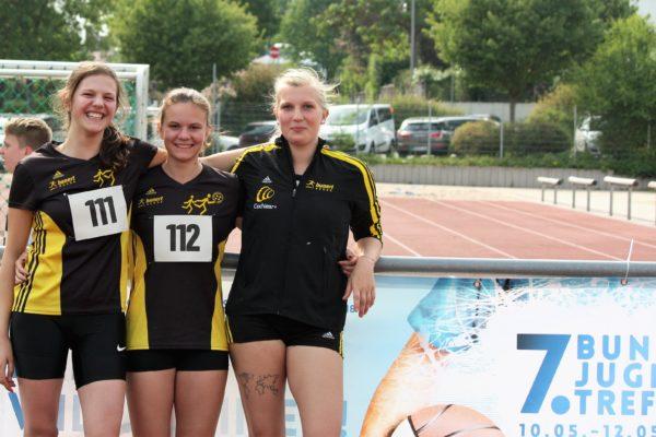 Alessia Melchiorre, Luisa Weigel, Svenja Kramer